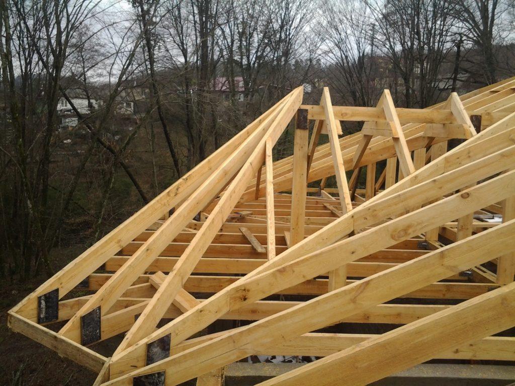 Как сделать крышу на эркере своими руками 627